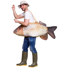 Catch Of The Day Mens Fishing Fish Costume Stag Night Fancy Dress