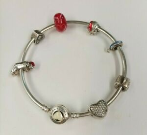 Pandora Charm Bracelet With Charms You Are So Loved Silver 925 MA Charms