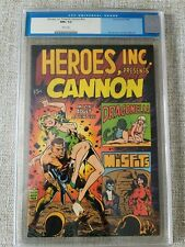 HEROES INC. #nn, 1st Misfits/Dragonella CGC NM+ 9.6, WHITE Pages! Wood-c/a 1969