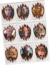 """Buffy Vampire Slayer: Story Continues - 9 Card """"Sunnydale Evil"""" Chase Set SE1-9"""
