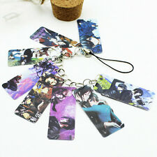 New Black Butler Anime Phone Chain Bag Hanging Pendant Strap Keychain Props