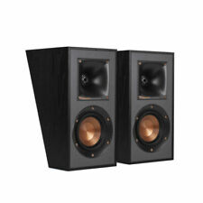 Klipsch R-41SA Dolby Atmos Speaker Black Finish {PAIR} B Stock
