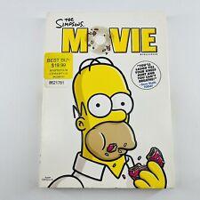 The Simpsons Movie (Standard DVD, 2007, Widescreen) Dan Castellaneta