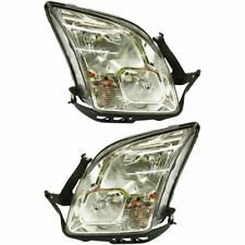 Headlight Set For 2006-2009 Ford Fusion Driver and Passenger Side w/ bulb