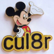 Disney Pin Text Message - cul8r (Mickey Mouse)