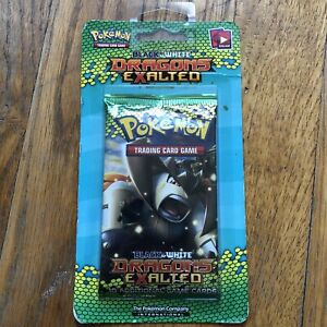 Black And White Dragons Exalted Pokemon Sealed Blister Pack Unweighed 2012