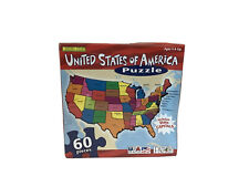 United States Of America Puzzle With State Capitols. 60pc. Sealed. NEW