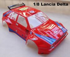 Carrozzeria BODY 1/8 GT Rally Games GT LANCIA DELTA HF VERNICIATA ROSSA