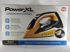 Power XL Cordless Iron & Steamer 2-in-1 Lightweight Ergonomic Design NEW in box