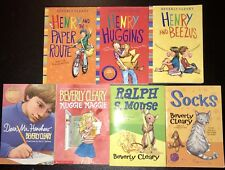 New listing Huge Lot 7 Beverly Cleary Books ~ Ramona, Henry Huggins, Ralph S. Mouse, more.