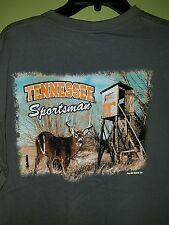 NWT Mens L University Of TN VOLS, Tennessee Sportsman Shirt Deer Hunting NCAA