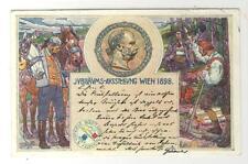 AK Wien, Jubiläums-Ausstellung 1898, Kaiser Franz Joseph