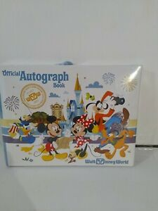 Walt Disney World Mickey Mouse & Friends Official Autograph Book New