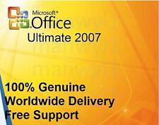 Microsoft Office Ultimate 2007 32 bits Clé de licence ferraille PC
