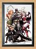 Batman Cat woman Harley Quinn Poison Ivy Halloween Art A4 Print Photo Poster dvd