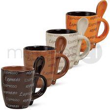 Espressotassen aus Keramik Espressodekor 4er Set 7 cm / 50 ml