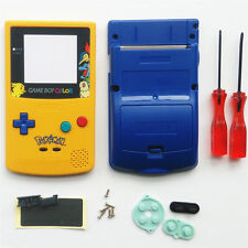 GBC Nintendo Game Boy Color Housing Shell LIMITED EDITION Pokemon Chikorita USA!