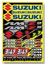 D'COR Suzuki RMZ Yoshimura Decal Sheet Thick Vinyl MotoX Dirt Bike Supercross