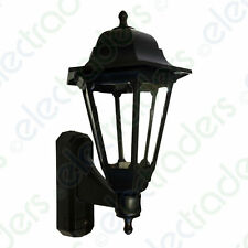 ASD CL/BK100C Coach Lantern with Photocell Dusk to Dawn Sensor - (Black)
