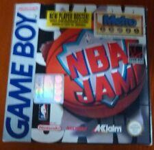 Nintendo Game Boy NBA Jam Vintage Game 1993 in Original Packaging