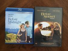 Before Midnight (Blu-ray) + Before Sunset (Dvd) Ethan Hawke Julie Delpy
