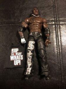 R TRUTH wwe ELITE SERIES 10 Wrestling figure MATTEL Wrestler Rare With Shirt