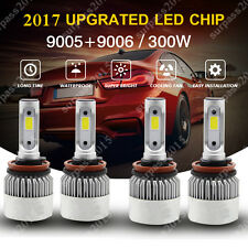 Cree Combo 9005 High + 9006 Low LED Headlight 6000K Total 300W 30000LM led Kit