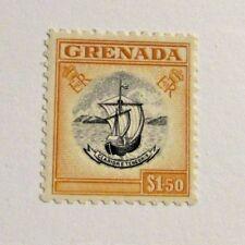GRENADA Scott #162  * MH $1.50 ship boat stamp ,very fine