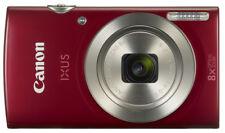 "Canon Ixus 150 16MP HD, 8x Optical Zoom 2.7"" LCD Digital camera RED +8GB card"