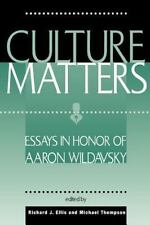 Culture Matters: Essays In Honor Of Aaron Wildavsky-ExLibrary