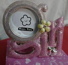New Baby Girl Photo Frame - small photo - baby girl gift - nursery decor