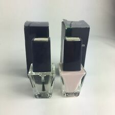 AVON NAILWEAR  NAIL ENAMEL - LOT OF 2 - Clear N & French Tip Lilac C