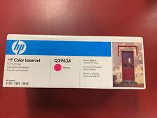Q3963A 122A Genuine HP Magenta Toner Color LaserJet 2500L 2550LN 2550 2800 $