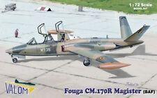 Valom 1/72 Model Kit 72087 Fouga Magister CM.170 Decals Belgium