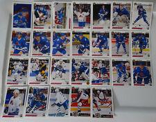 1991-92 Upper Deck UD Quebec Nordiques Team Set of 26 Hockey Cards No #524 #529