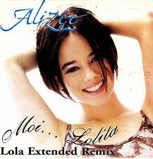 ALIZEE - MOI.. LOLITA LOLA EXTENDED REMIX CD SINGLE 1 TRACK PROMO SPAIN 2002