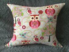 Handmade READY-FILLED Children's OWL Cushion *ZED Unique Gift*