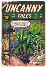 UNCANNY TALES #9 - 1953 pre-code horror - Bill Everett, Reed Crandall - Fair
