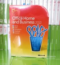 Brand New Sealed Microsoft Office 2010 Home and Business X16-73756 100% Genuine