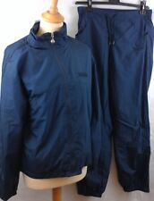 Women's Lonsdale 2 piece tracksuit navy blue sparkle thread size 14 BNWT