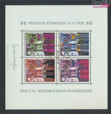 Austria block15 (complete issue) fine used / cancelled 2000 Hundertwas (9282936