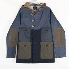 Nigel Cabourn Crazy Cameraman Jacket Coat in Black Navy Army Size 48