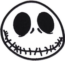 Jack Skull Christmas Nightmare Iron On Sew On Cartoon Embroidered Patch 3.1""