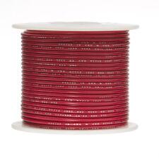 "18 AWG Gauge Stranded Hook Up Wire Red 250 ft 0.0403"" PTFE 600 Volts"