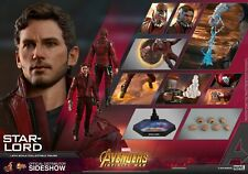 Hot Toys Marvel Avengers Infinity War Star-Lord Chris Pratt 1/6 Scale Figure