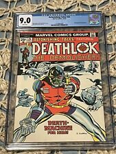 ASTONISHING TALES 26 CGC 9.0 White Pages 2nd Appearance Of DEATHLOK MARVEL 1974