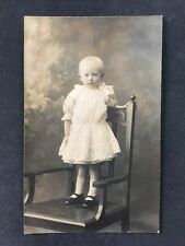 Vintage Postcard - Real Photo Anonymous Child - #A11 - Young Girl