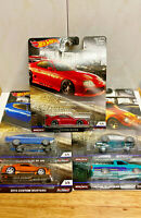 2019 Hot Wheels Premium Car Culture Cruise Boulevard FULL SET 5 Cars NIP IN HAND
