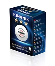18x Premium Kingnik 3-Star New Poly /Plastic Table Tennis Balls XUSHAOFA