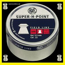 RWS Super H Point .22 Airgun Pellets x100 Hunting/Pest